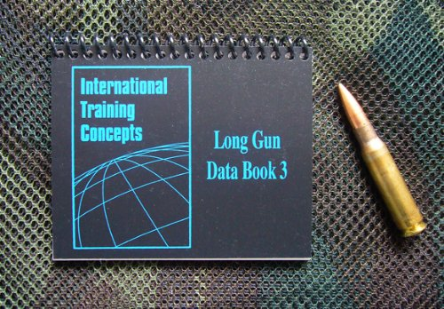 ITC Marksmanship Data Book 3 / Sniper log book / Law Enforcement