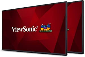 """ViewSonic VP2468_H2 PRO 24"""" Dual Pack Head-Only 1080p Monitors with 100% sRGB Rec709 14-bit 3D LUT for Photography and Graphic Design"""