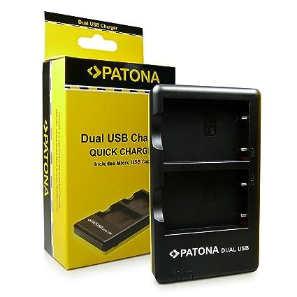 PATONA Cargador de batería doble EN-EL5 para Nikon CoolPix 3700 4200 5200 5900 6000 7900 P3 P4 P80 P90 P100 P500 P510 P520 P530 P5000 P5001 P5100 ...