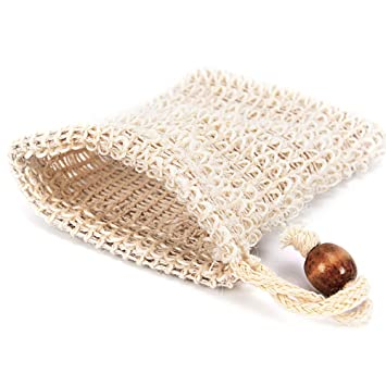 Home Improvement 6 Pcs Natural Exfoliating Soap Bags Handmade Sisal Soap Bags Natural Sisal Soap Saver Pouch Holder Bath Soap Holder Bags Cheap Sales