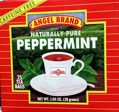 Angel Mint Candy - Angel Brand Peppermint Tea - 25 tea bags - (1 oz)
