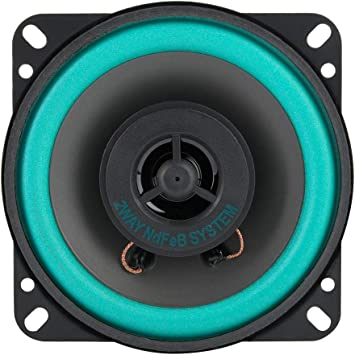 Ebtools 4 Zoll 100 Watt Auto Hochtöner Super Power Lautsprecher Fahrzeugtür Musik Audio Lautsprecher Auto