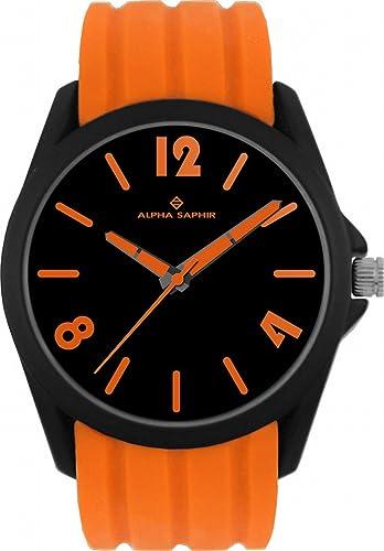 Jacques Lemans Unisex-Armbanduhr  Analog Quarz Silikon 380G