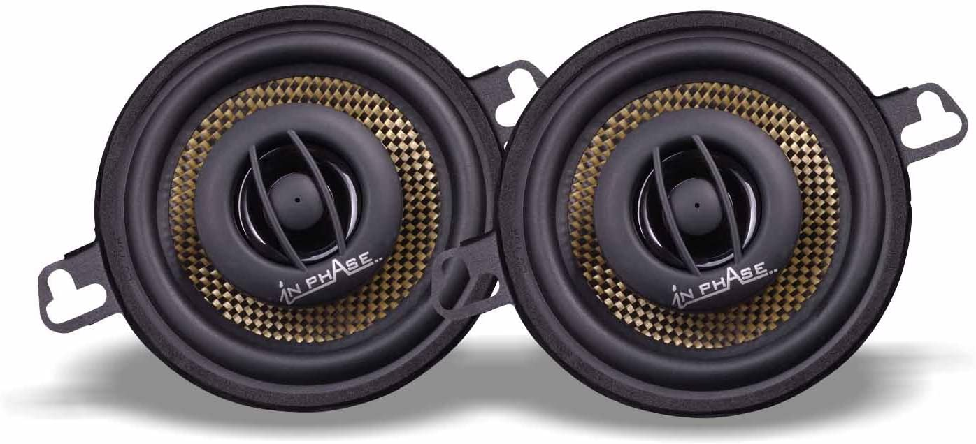 in Phase XTC87.2 140W 3.5 inch 2 Way Coaxial Speaker System with 35W RMS
