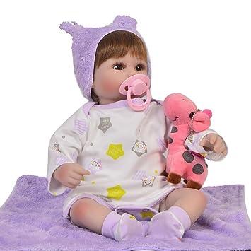 Amazon.com: Muñeca de bebé recién nacido con simulación de ...