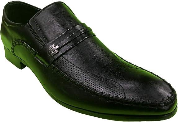 Krazy Shoes Men's Nice Black Slip