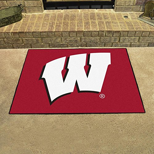 Fanmats Wisconsin Badgers All-Star Mat (Wisconsin Carpet Badgers)