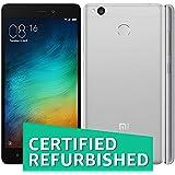 (Certified REFURBISHED) Xiaomi Redmi 3s Plus (Grey, 32GB)