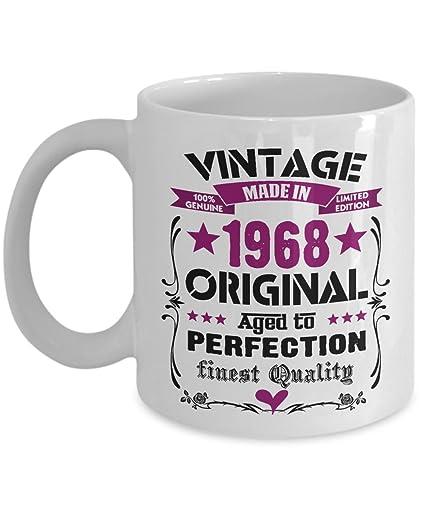 Happy 50th Birthday Mugs For Mom 1968