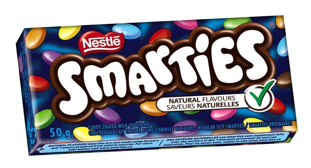 smarties chocolate Smarties Canada