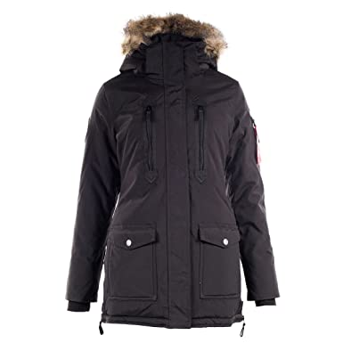 Horze Supreme Brooke Women's Long Parka Jacket at Amazon Women's ...