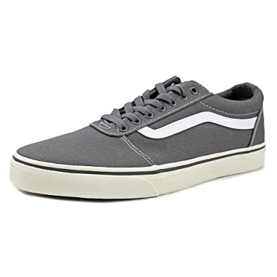 47d79e4d531 Vans Ward Men US 13 Gray Skate Shoe  Amazon.co.uk  Shoes   Bags