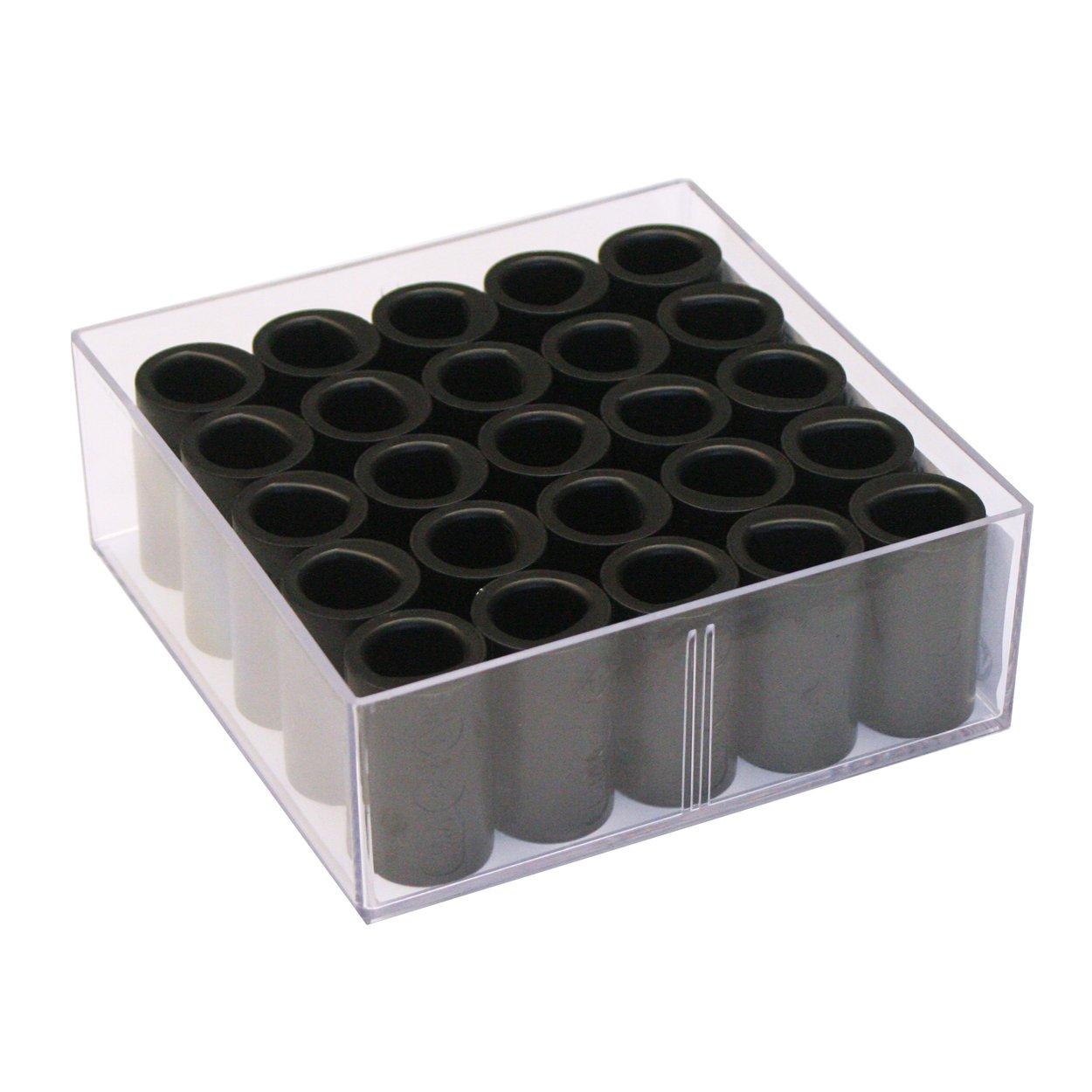 Vise Power Lift & Semi Finger Insert (Box of 25), Black, 5/8