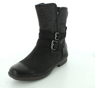 UGG Australia Womens Simmens Black Winter Boot - 5