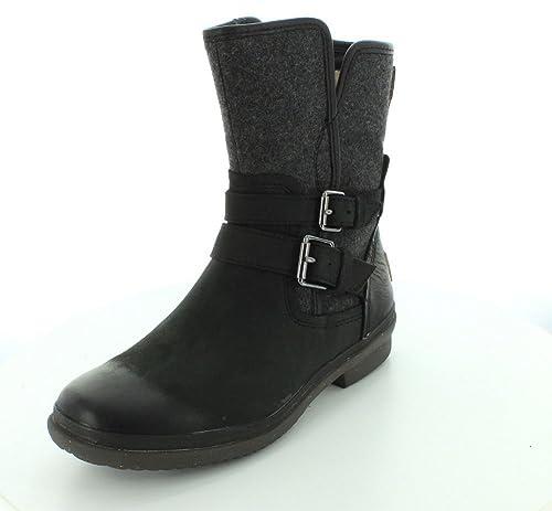 6aefc9bf418 UGG Womens Simmens 1005269 Black Boots: Amazon.ca: Shoes & Handbags