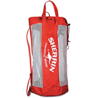 Sherrin Training Football Carry Bag, red/White, 18 Full Sized Footballs
