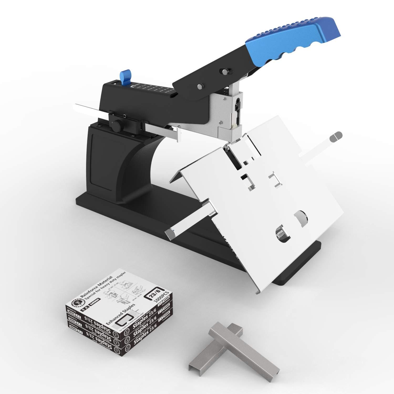 Office Equipment & Supplies Staplers Heavy Duty Desk Stapler 100 Sheet Document Paper Book Binder 4000 Staples