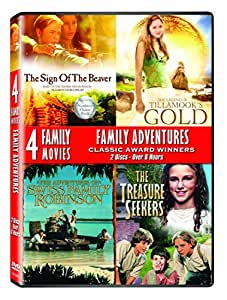 Family Adventures 4 Film Collector's Set: The Sign of the Beaver / The Legend of Tillamook's Gold / The Adventures of Swiss Family Robinson / The Treasure Seekers [Import]