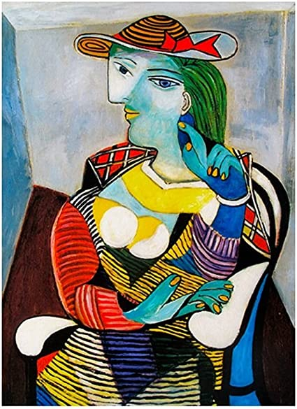Amazon.com: Alonline Art - Marie Therese Walter by Pablo Picasso ...