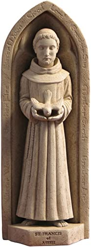 Washington National Cathedral St. Francis Wall Plaque/Garden Statue
