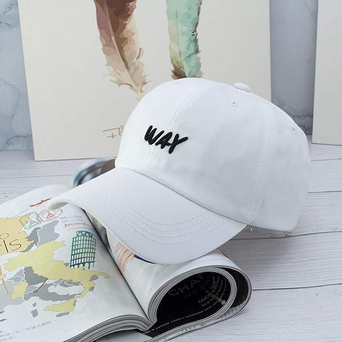 Sombrero Mujer Carta Bordado Gorra de béisbol Gorra Hombre ...