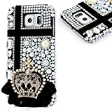 Note 5 Case - EVTECH 3D Handmade Bling Crystal Luxury Shiny Sparkling Pink