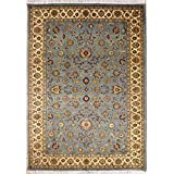 "5'0""x7'8"" Pak Persian Design Area Rug with Wool Pile 