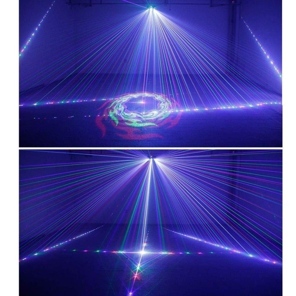 DJXITER Stade Lumi/ère DJ Party Lumi/ères Disco RGB LED Mini Cristal Magique Lampe Stroboscopique Son Son Activ/é T/él/écommande Halloween /Éclairage De No/ël Atmosph/ère for Bar