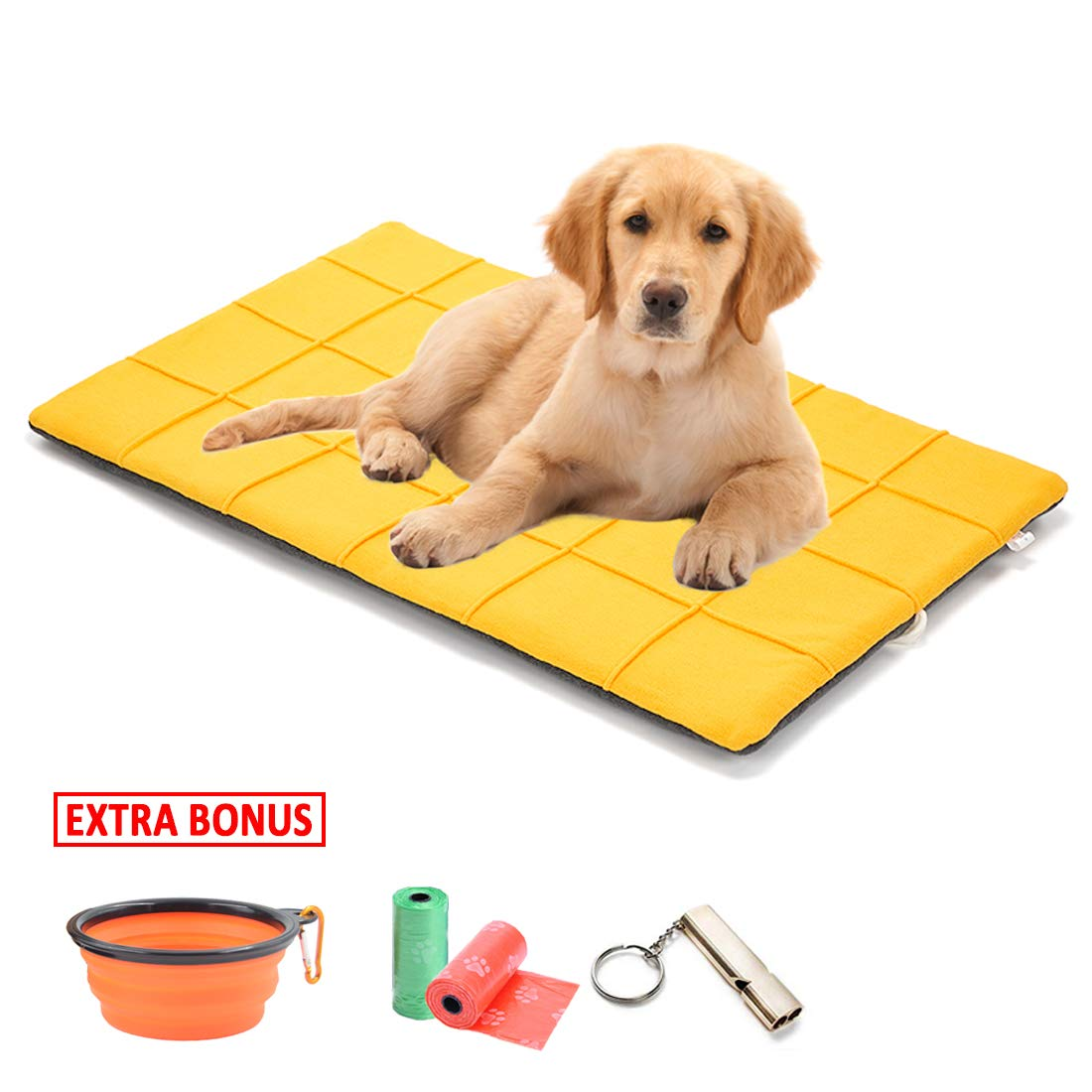 Gray,S TVMALL Dog Bed Mat Comfortable Soft Cat Dog Sofa Cushion Washable Pet Nest Kennel Pad Cat Dog Bed Blankets four Seasons Universal Suitable for Large Medium and Small Dogs to Sleep
