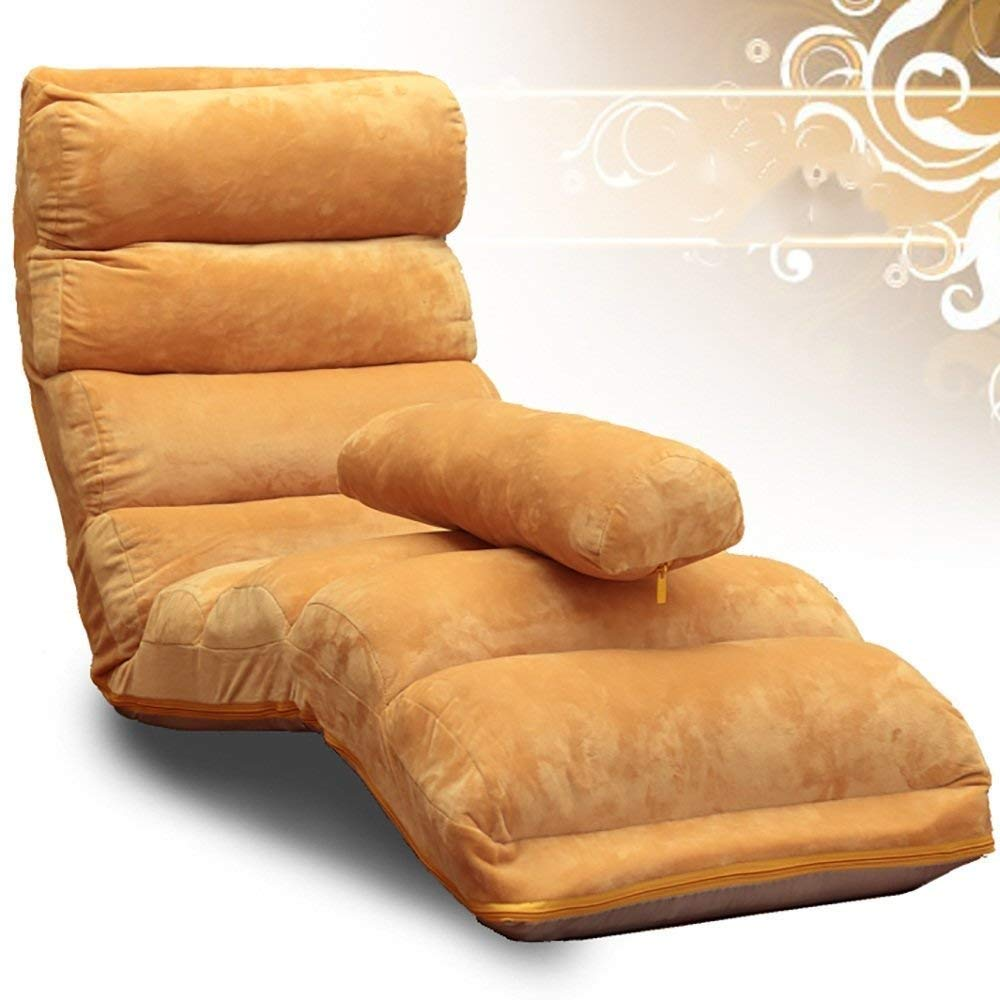 CQSMOO Sofá Perezoso Lounger Sofa Chair Desmontable Limpieza ...