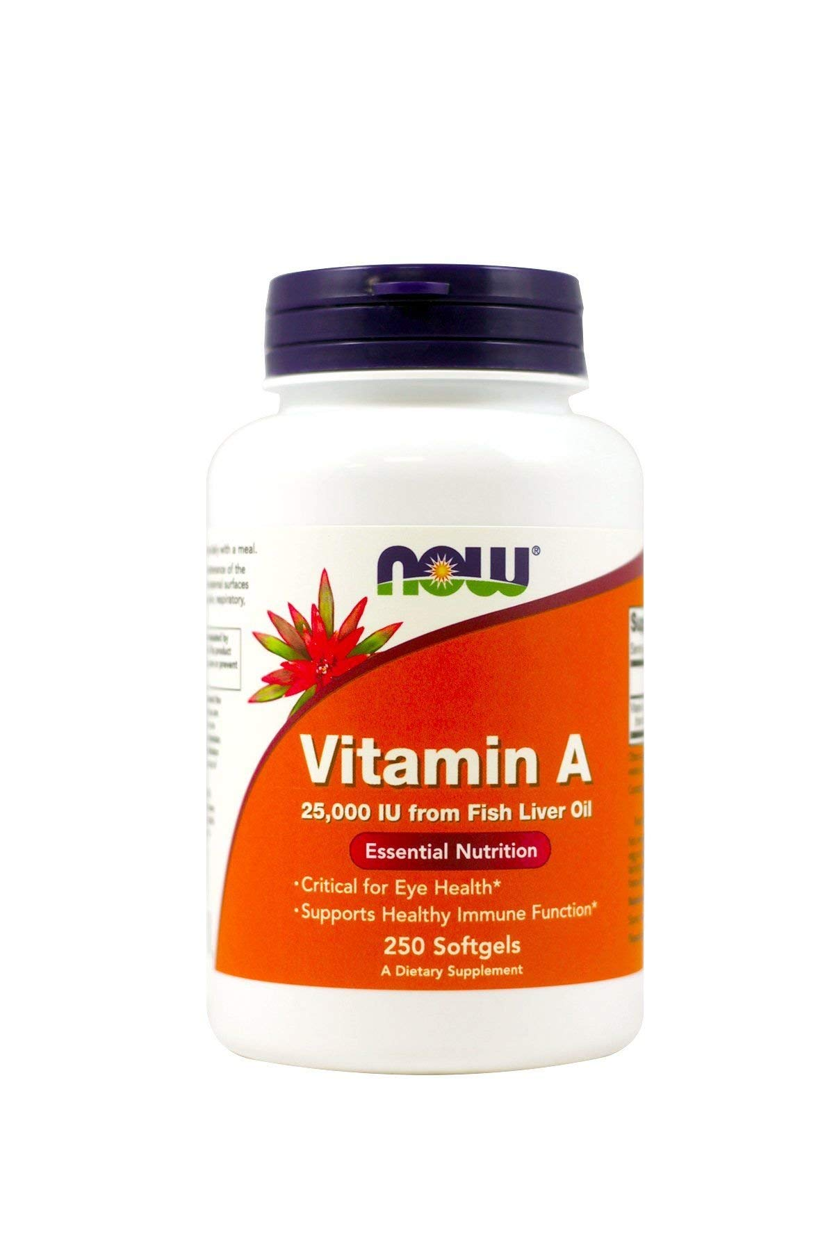 A 25,000 IU - Now Foods - 250 - Softgel by Now Supplements