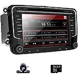 Car Radio DVD GPS Navigation for VW Jetta Passat Golf Beetle Caddy Tiguan Scirocco Octavia Altea Touran Amarok HD 7 inch Touch Screen Handsfree Bluetooth Car Stereo