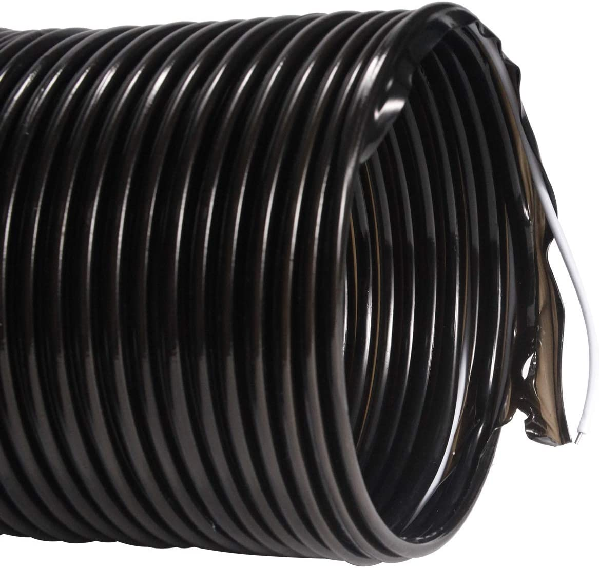 /ø100mm*2m, Negro Conducto de Aire Flexible para Secadora Universal Hon/&Guan Manguera de Ventilaci/ón de PVC de Alta Presi/ón para Entrega de Polvo L/íquido y Gas