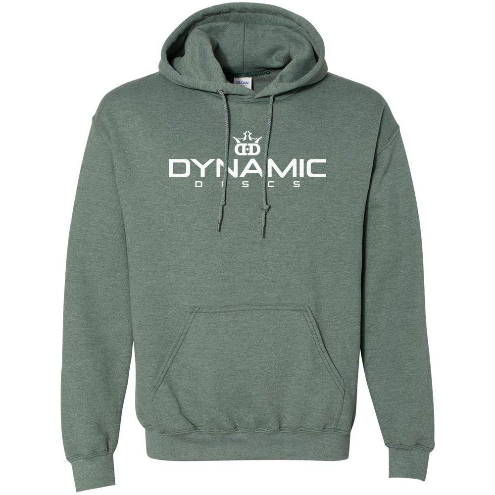Dynamic Discs Bold ロゴ プルオーバー パーカー フード付きディスクゴルフスウェットシャツ B07HS231K9 X-Large グリーン グリーン X-Large