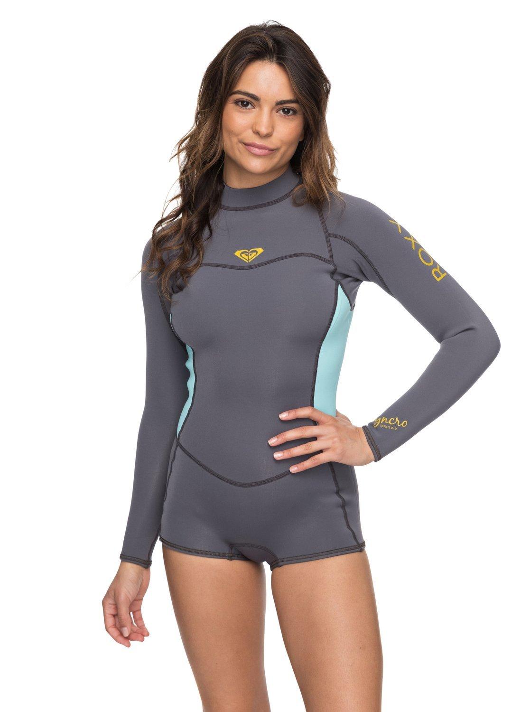 Roxy Womens 2/2Mm Syncro Series Long Sleeve Back Zip Flt Springsuit Erjw403014
