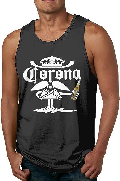 GGdjst Corona - Camiseta de tirantes de algodón para hombre: Amazon.es: Ropa y accesorios