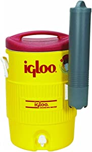 Igloo 400 Series 5-Gallon Beverage Cooler with Cup Dispenser - Maintains Ice for 3 Days in 90°F
