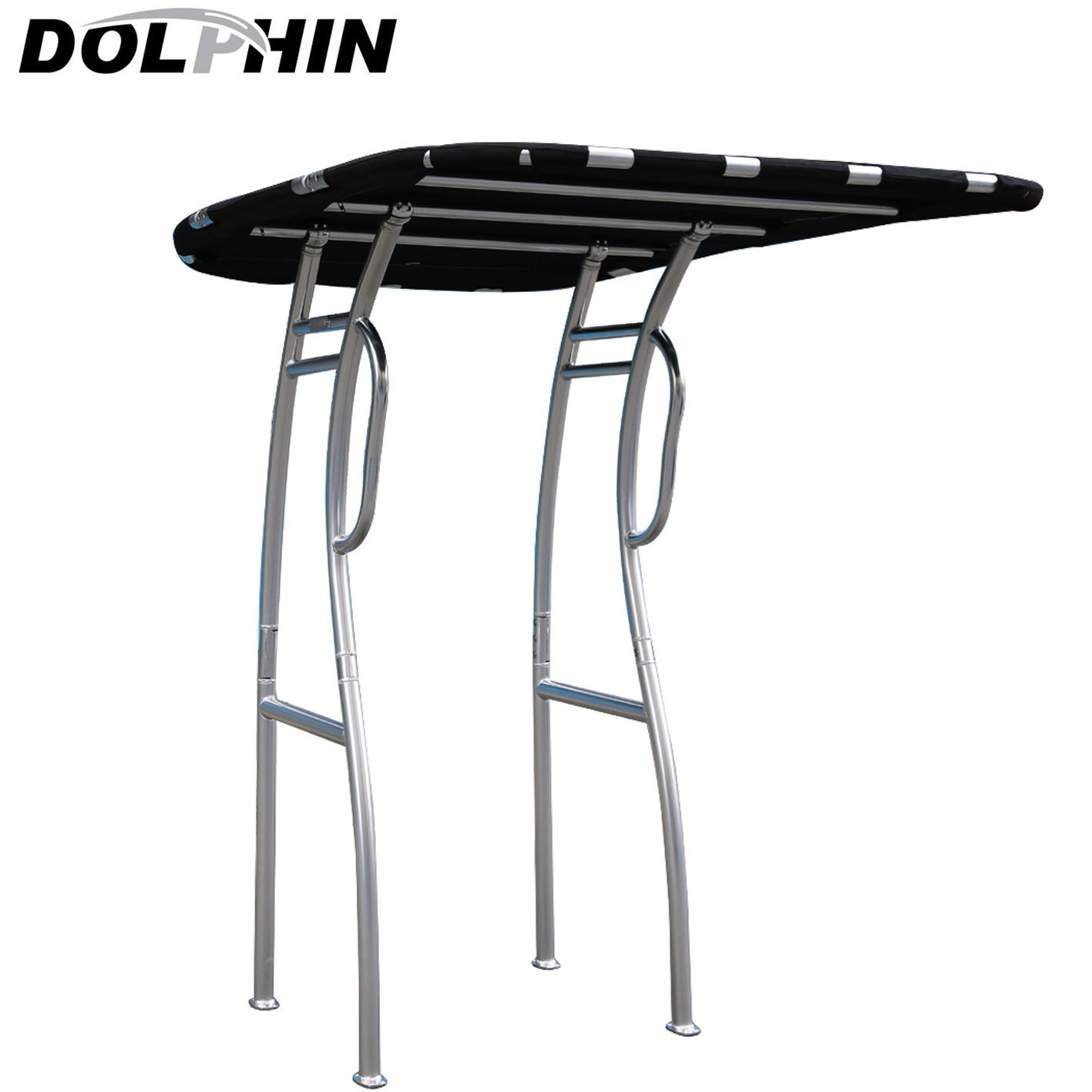 Amazon.com  Dolphin Pro S2 T-TOP Black Canopy Anodized Aluminum for Center Console Fishing Boats  Sports u0026 Outdoors  sc 1 st  Amazon.com & Amazon.com : Dolphin Pro S2 T-TOP Black Canopy Anodized Aluminum ...