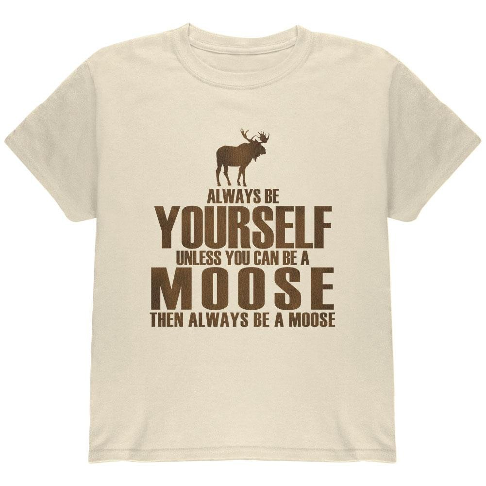 Always Be Yourself Moose T Shirt 5018