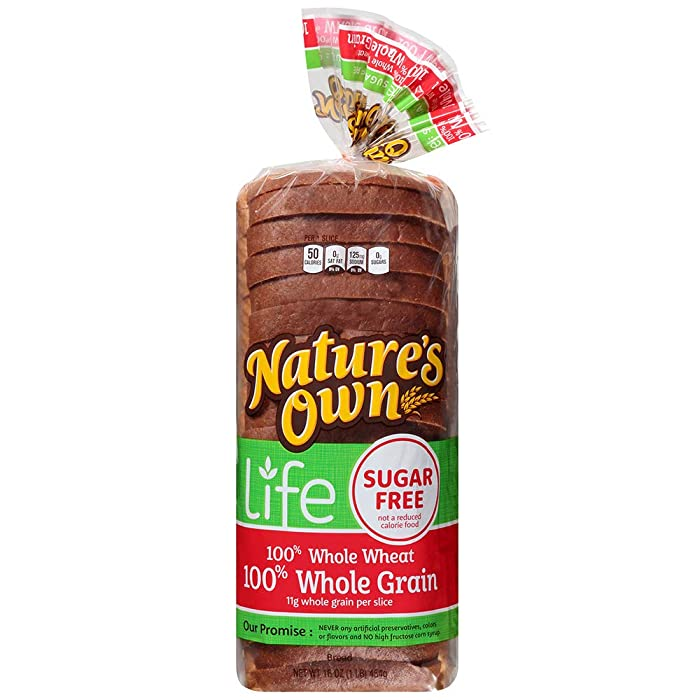 Top 10 Nature Own Sugar Free Bread