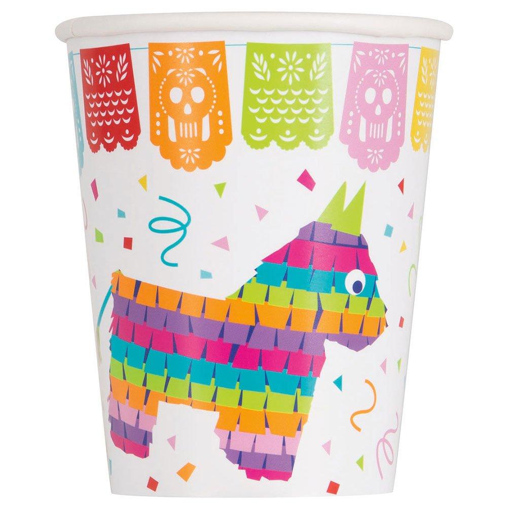 Unique 58686 9 oz Mexican Fiesta Party Cups, 8 Count Unique Industries Inc.