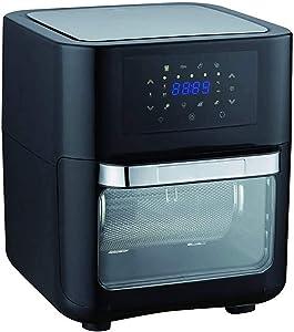 MEETGG 1700W 10L Multifunction Smart Fryer Chicken Oil Free Air Fryer Oven Healthy Food Fryer Cooker Touch LCD Electric Deep Fryer