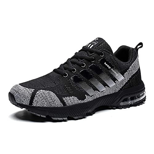 1dd807be8c Women Men Casual Sports Running Shoes Air Trainers Jogging Fitness Shock  Absorbing Gym Athletic Sneakers(