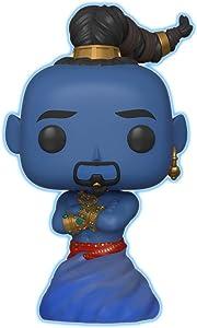 Funko Pop Disney: Aladdin Live Action - Genie (Glow in The Dark) Amazon Exclusive