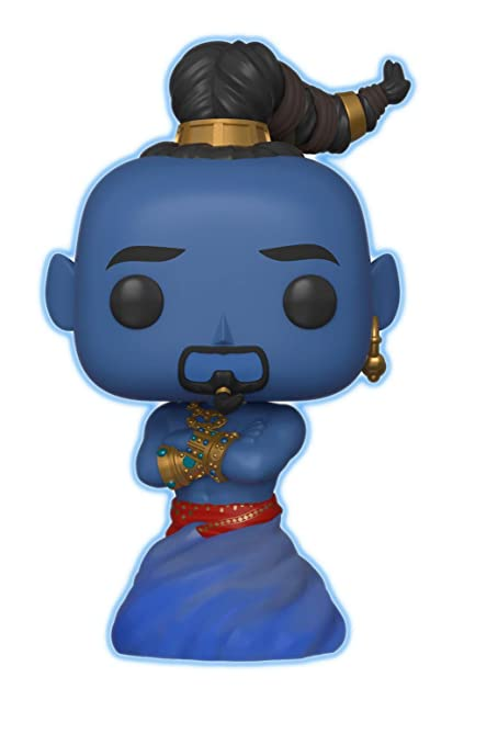 Funko Pop Disney Aladdin Live Action Genie Glow In The Dark Amazon Exclusive