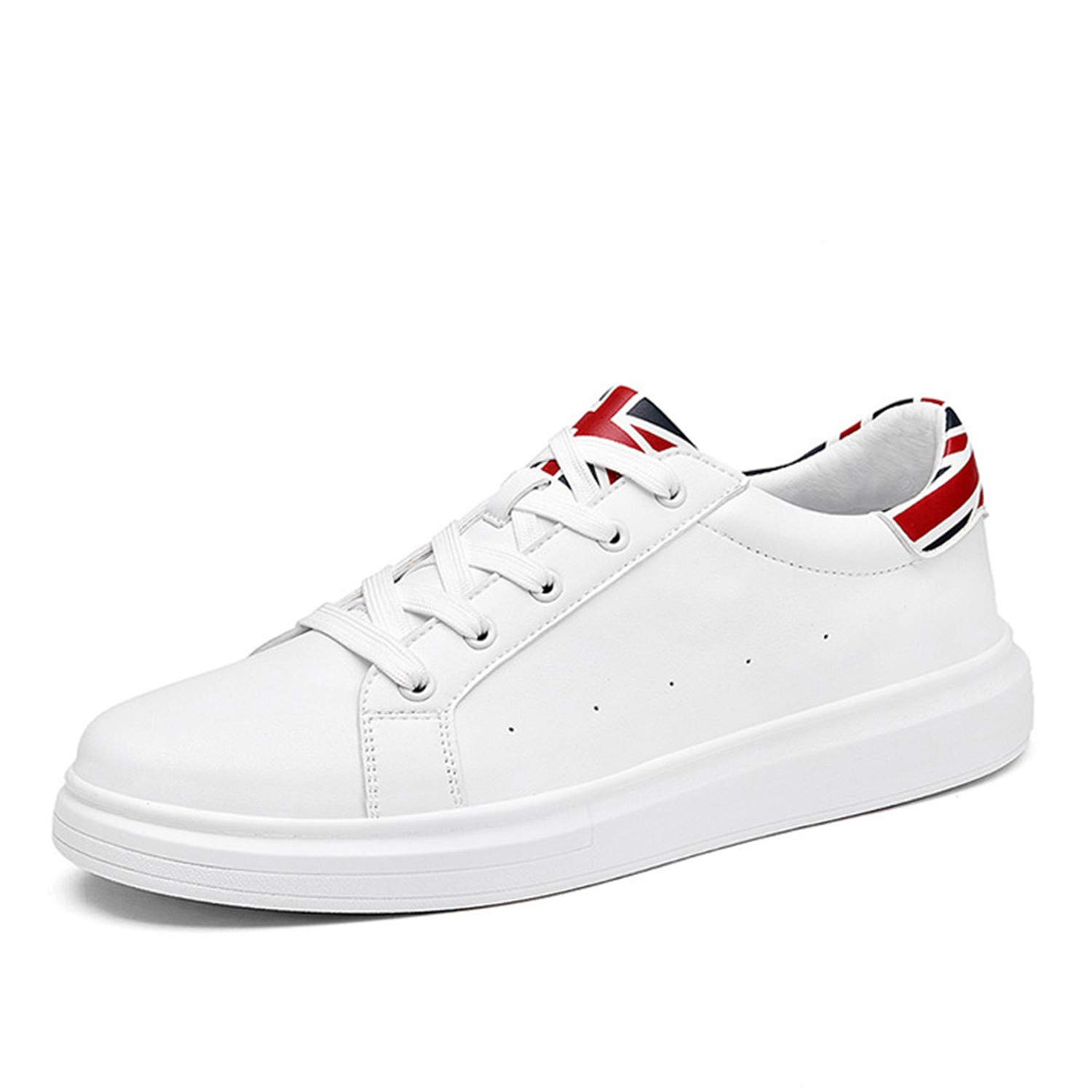 Amazon.com | Thadensama Designer Mens Casual Shoes Summer Breathable Fashion White Sneakers Men Leather Shoes Loafers Male Tenis | Shoes