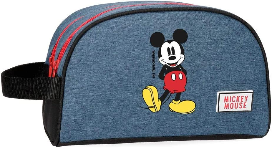 Neceser Mickey Blue adaptable a trolley