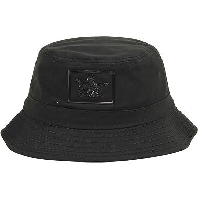 ce99940d5b8 Amazon.com  True Religion TR2096 Shiny Buddha Bucket Hat Black S M ...