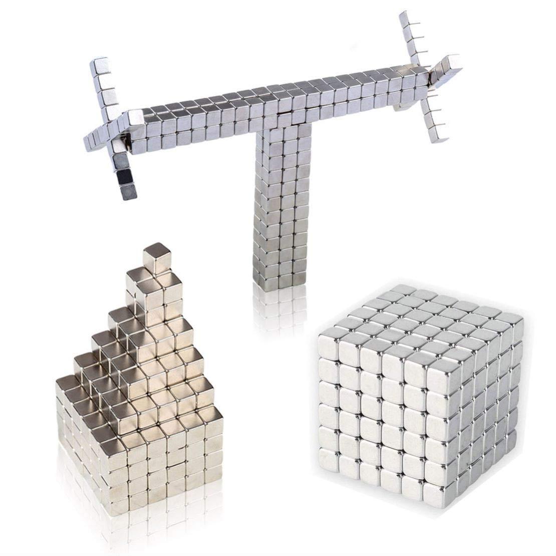 IMNED Magnetic Building 216PCS 5mm Magnets Fidget Cubes Gadget Toys Rare Earth Magnet Stress Relief Toys Office Desk Toys Desk Games
