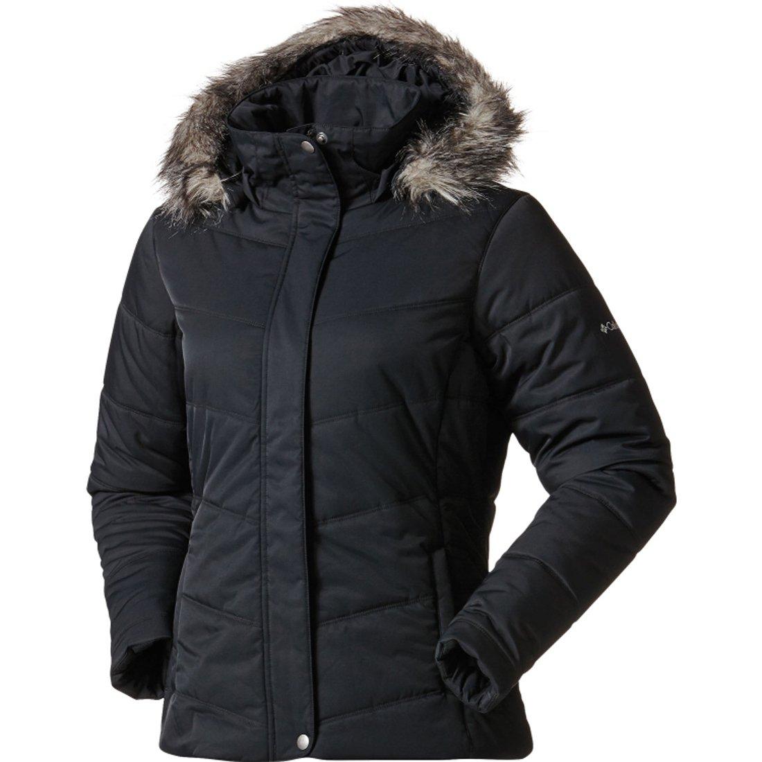 Columbia Simply Snowy II Omni-Shield Womens Jacket, BLACK (XL)
